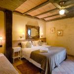 Habitación Amarilla Mas Prat Vista 1