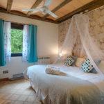 Habitación azul Hotel Mas Prat